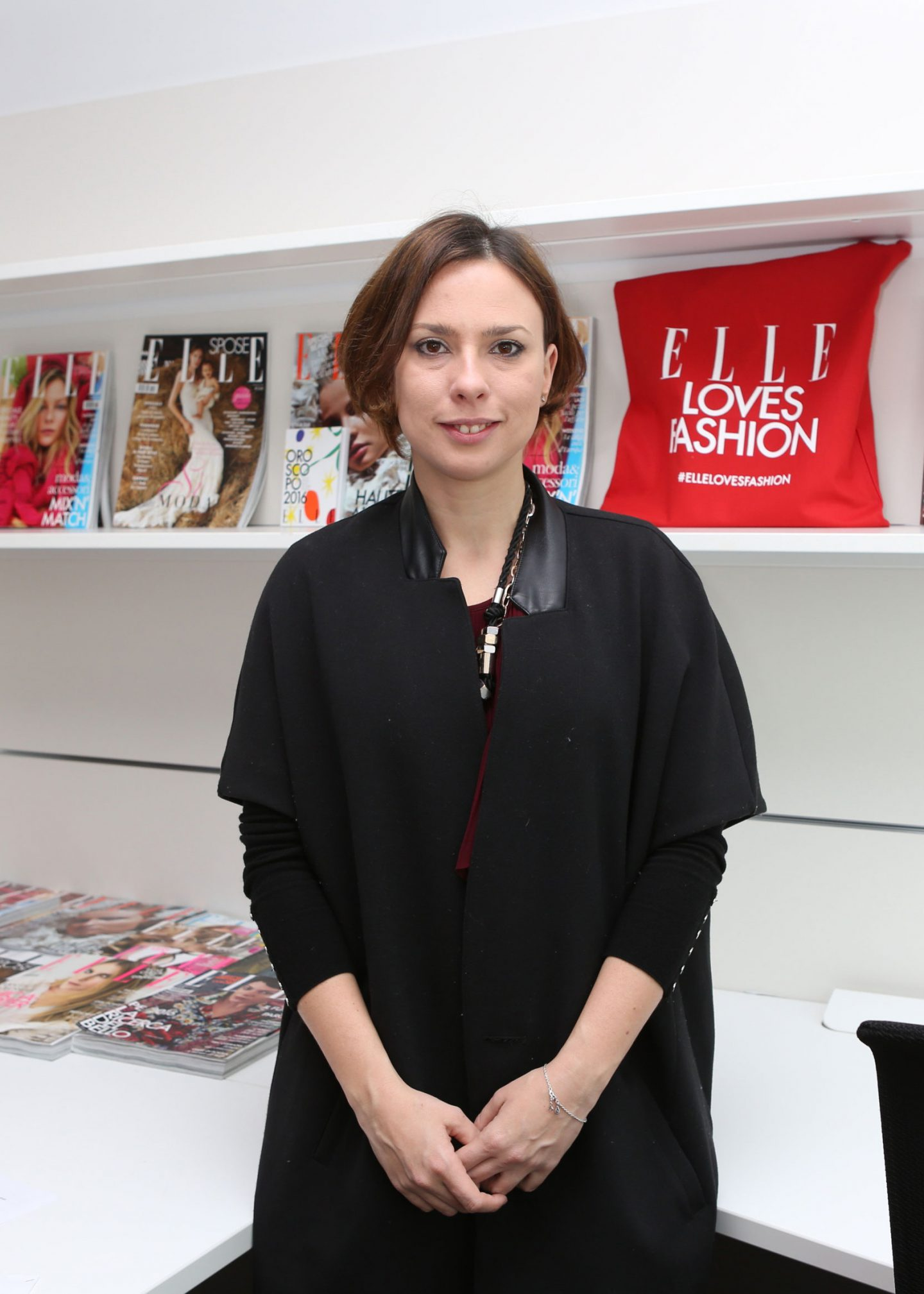 Enrica Arena at the Elle Loves Fashion Awards office