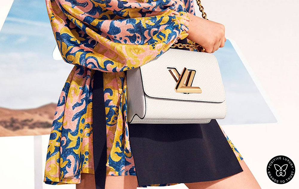 Louis Vuitton adopts blockchain to fight counterfeit products.